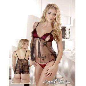 Babydoll fessure seno trasparente - sexy shop La Passione Verona