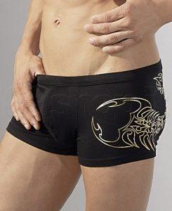 Boxer con scorpione dorato - sexy shop La Passione Verona
