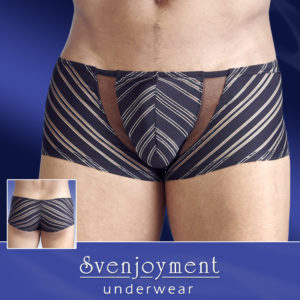 Boxer con strisce trasparenti - sexy shop La Passione Verona