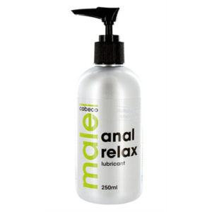 LUBRIFICANTE ANALE MALE ANAL RELAX LUBRICANT 250ML
