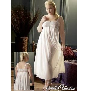 Vestaglia lunga bianca sexy shop la passione verona