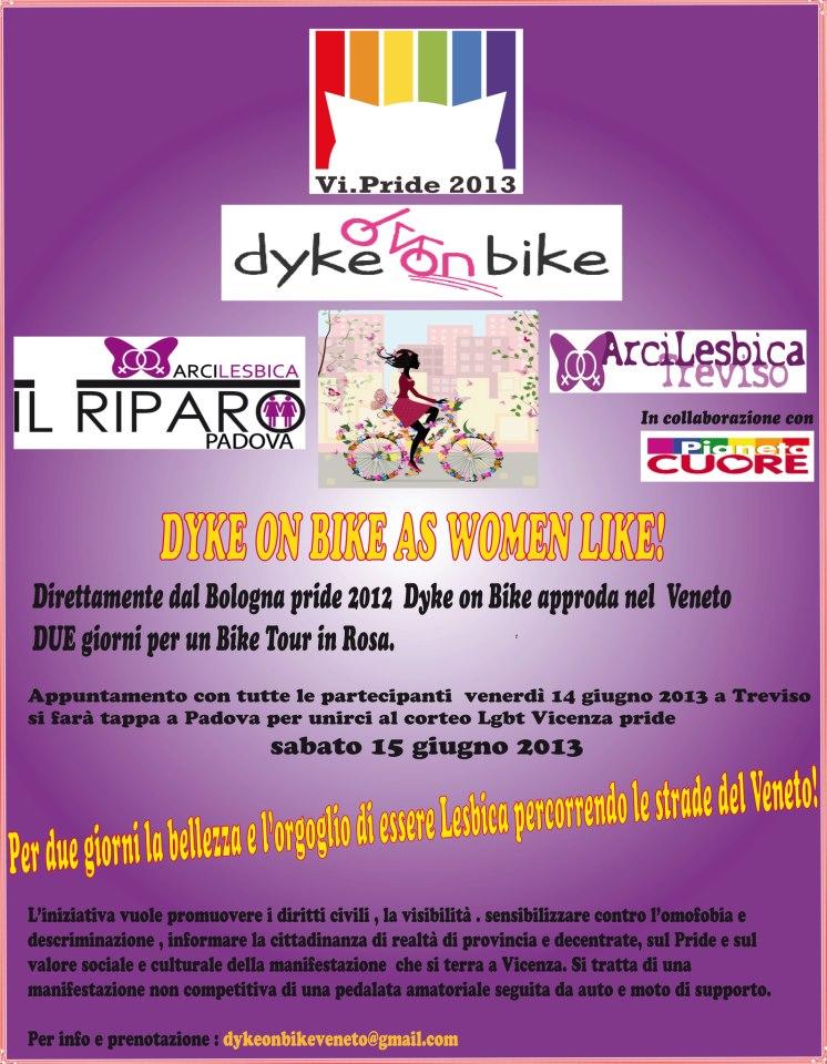 Dike on Bike